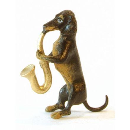 Dackel Saxophon