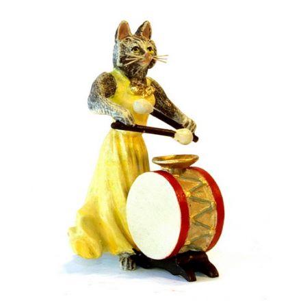 Katzendame Trommel