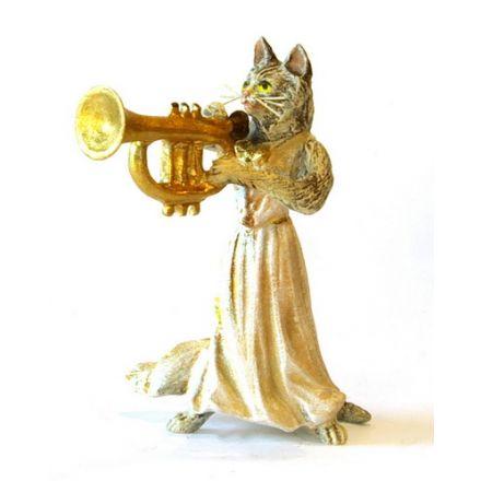 Katzendame Trompete