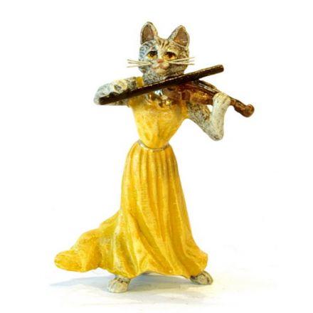 Katzendame Violine