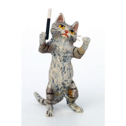 Katze Dirigent