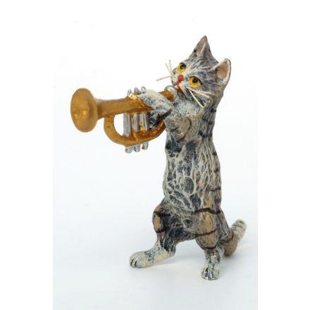 Katze Trompete