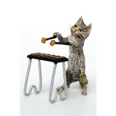 Katze Xylophon (2-tlg)