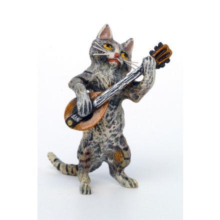Katze Mandoline
