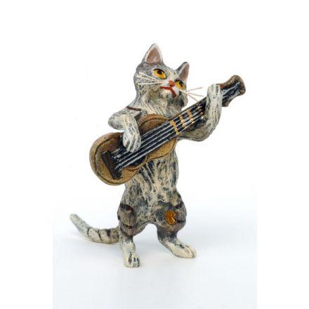 Katze Gitarre