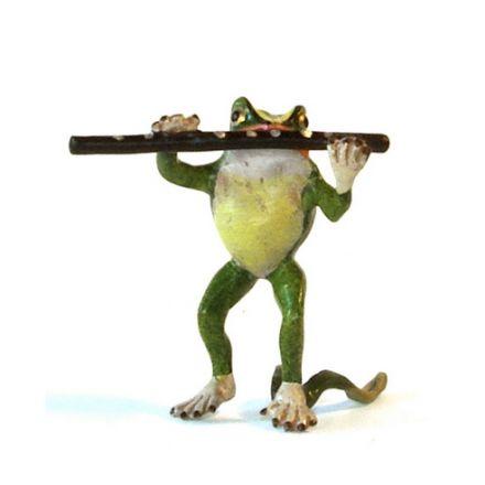 Frosch Querflöte