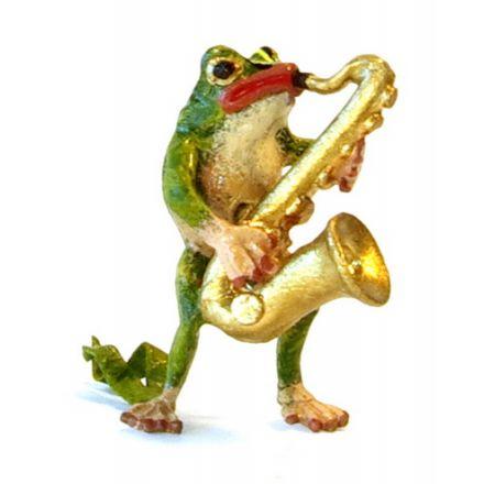Frosch Saxophon