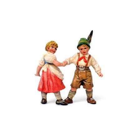 Hänsel u. Gretel tanzend