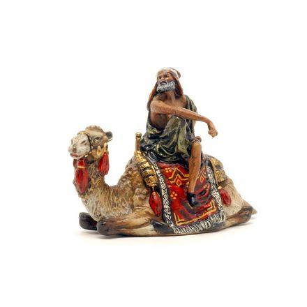 Araber auf liege. Kamel