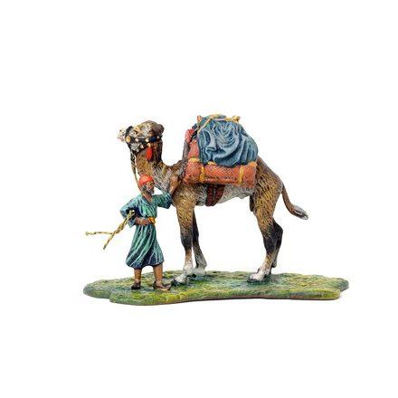 Araber mit Kamel