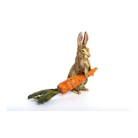 Hase und Karotte