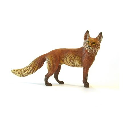 Fuchs stehend