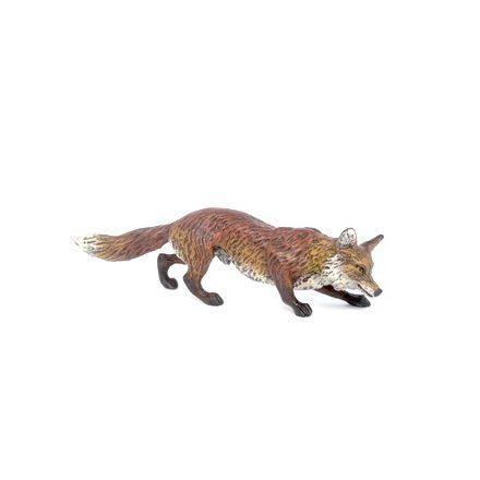 Fuchs schnuppernd