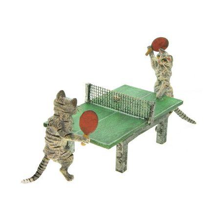 Katzen Tischtennistisch