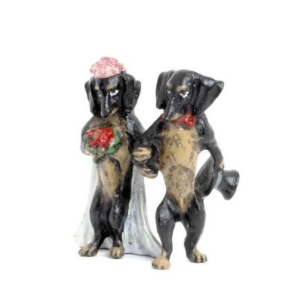 Dackel Brautpaar