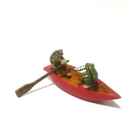 Frösche im Boot
