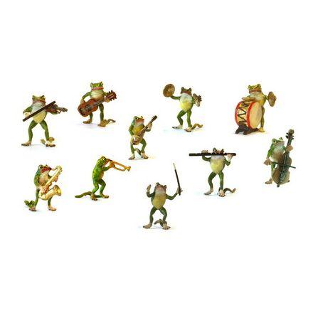 Frosch Orchester (10 Stück)