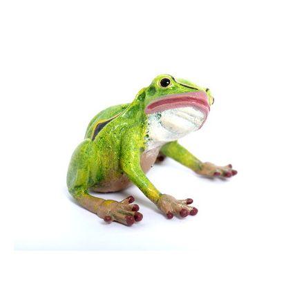 Frosch Kopf hoch
