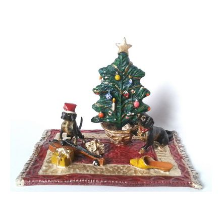 Weihnachten mit Dackel