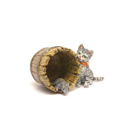 Katze Fass/Maus