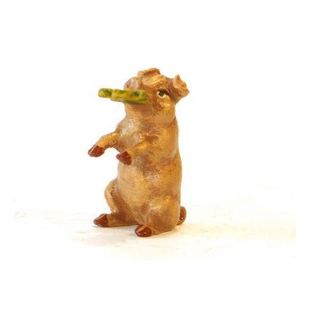 Schwein mit Kleeblatt