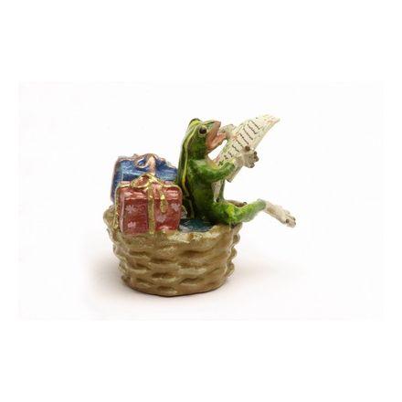Frosch im Korb/Geschenke