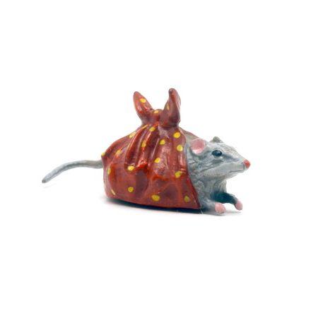 Maus im Tuch