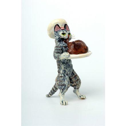 Katze Koch/Grillhühnchen
