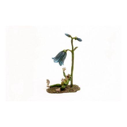 Frosch Glockenblume