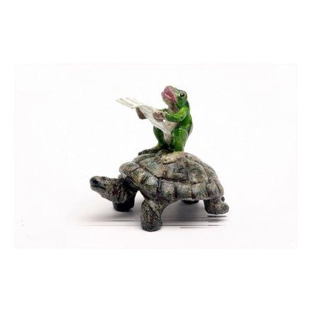Frosch Zeitung/Schildkröte