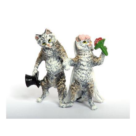 Katze Brautpaar