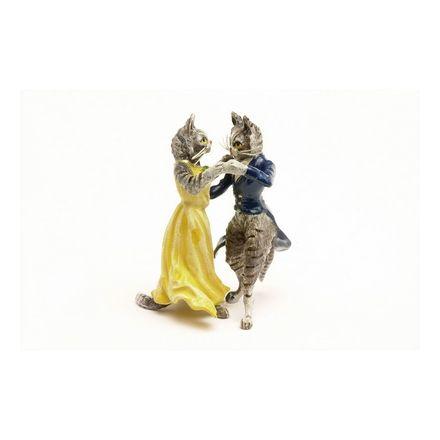 Katze Tanzpaar