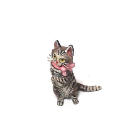 Katze Masche/aufrecht