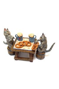 Katzen beim Oktoberfest